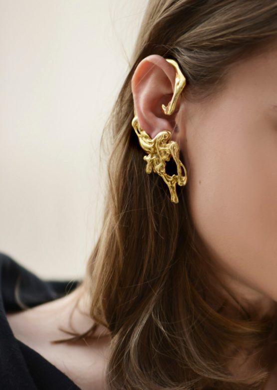 Liquefy ear cuff