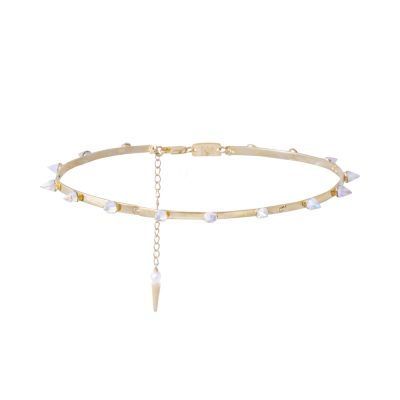 Crystal Spike Choker
