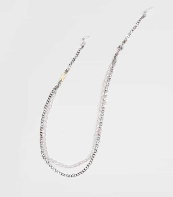 pearl addict silver detail eyewear