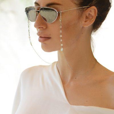 Silver Cubie Eyewear