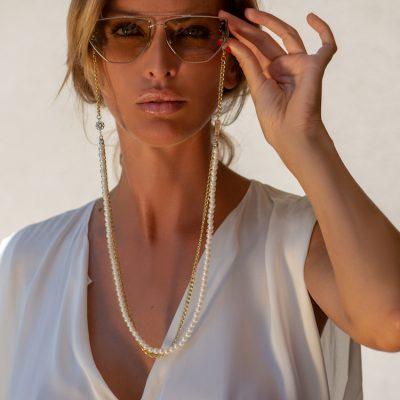 Gold Pearl Addict Eyewear
