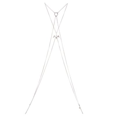 Crystal Lily Body Chain