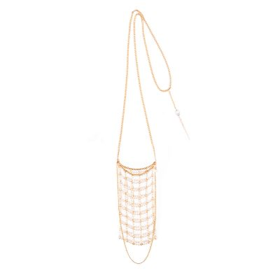 White Pearl Baby Bag