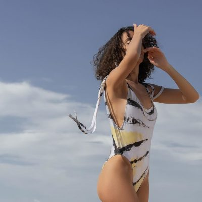 Zebra Fish – One Piece Swimsuit