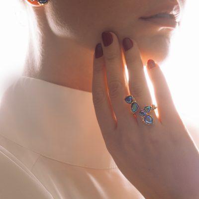 Blossom Ring Chameleon