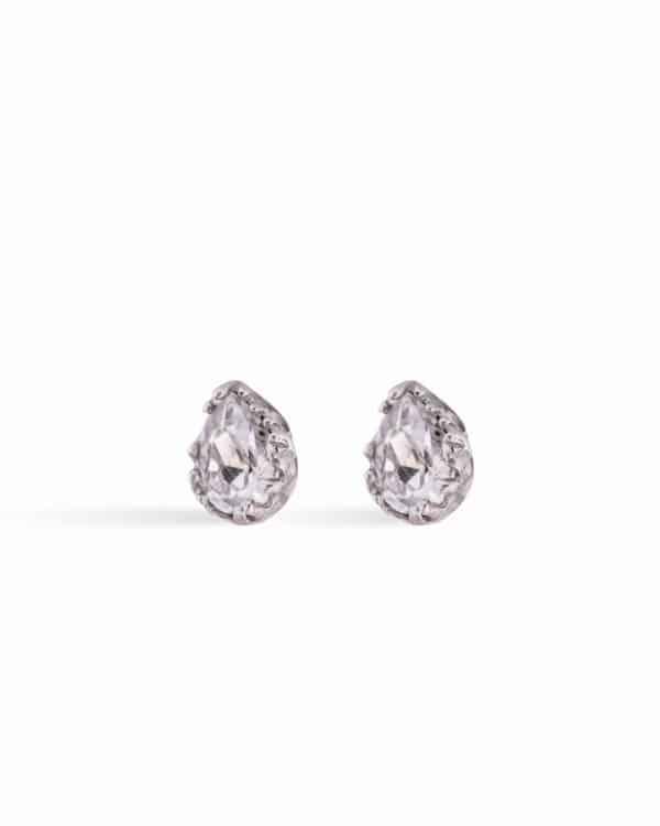 Crystal Drop Silver