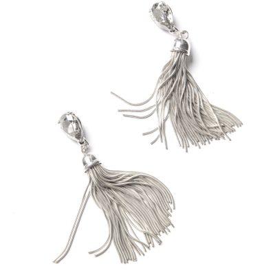 Silver Tassels