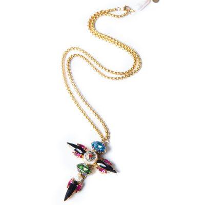 Parrot Cross Necklace