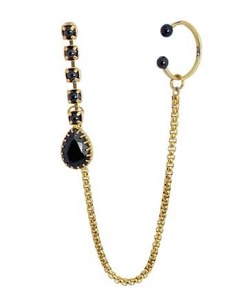 Punky queen mono earring